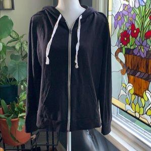 3/$25 🌟🌟🌟 Flirtitude zip front hoodie
